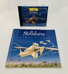 Stellaluna Janell Cannon Living Books PC CD Rom & Softcover Book 1996