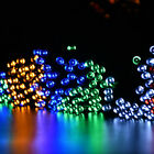 50 LEDs Solar Powered Garden Xmas Wedding Party Fairy Outdoor Strings Lights 5M