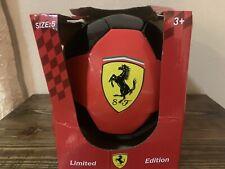 Official Scuderia Ferrari Soccer Ball Size 5 Limited Edition Black/red