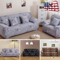 2/3 Seater Printing Sofa Flora Slipcover Stretch Elastic Protector Couch Cover