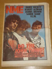 NME 1984 APR 21 THREE JOHNS REM SANDIE SHAW LOS LOBOS