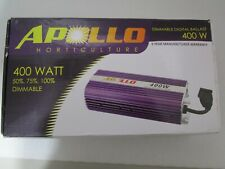 Apollo Horticulture 400w Dimmable Digital Ballast  - 50% 75% 100% Dimmable