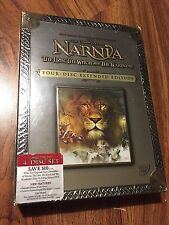 The Chronicles of Narnia: Lion, Witch, and Wardrobe (DVD, 2006, 4-Disc Ed.) NEW