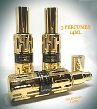3 perfumes Creed Aventus - Armani Prive Oud Royal - TomFord Cafe Rose each 14ml!