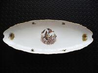 "Vintage Bernadotte Porcelain fine de Boheme FISH PLATTER 25.5""x9.5"" Czech Repub"