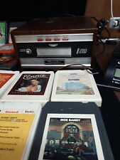 Vintage Electrophonic 8 Track Stereo Player Made In Japan w/ 26 tapes