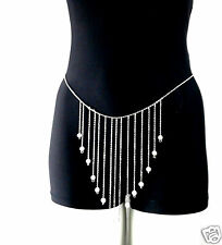 Belly Chain, Pearls, Waist Chain,  Gift, Bikini Chain TOTBC12155