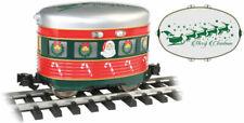Bachmann-Eggliner - Standard DC -- Christmas with Santa and Sleigh Graphics - G