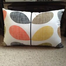 Handmade Double Sided Cover in Orla Kiely Multi Scribble Stem FABRIC 30x45cm