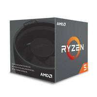 AMD RYZEN 5 2600X 6-Core 3.6 GHz (4.2 GHz Max Boost) AM4 95W Desktop Processor