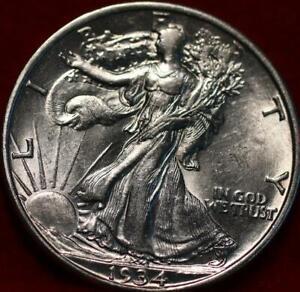 1934-D Denver Mint Silver Walking Liberty Half