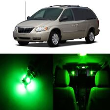 16 x Green LED Interior Light Package For 2001 - 2007 Chrysler Town Country TOOL