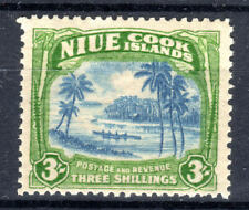 Niue 3/- KGVI SG77 Cat £35 mm [C907]