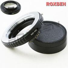 Macro AF Confirm Minolta MC MD Mount Lens to Nikon F Adapter D4 D600 D800 D3200