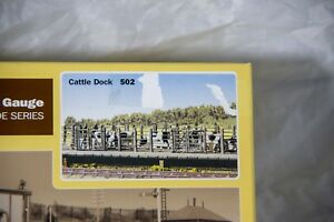 Cattle Dock HO/OO Guage Scale Ratio Plastic Model Trackside Series (502)