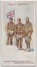 South Magnetic Pole Shackleton Expedition  Antarctic 1909 c100 Y/O Trade Card