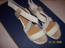 Bass Womens Jules Strappy shoes 8M White