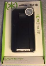 Brand New Original Speck SmartFlex View Case for HTC One M7 - Black !