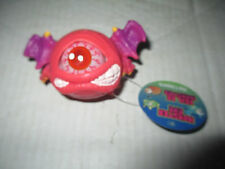 Red Eye Monster Ball w/ Wings Figure Cyclops Toy Toysmith Eye Pops In and Out