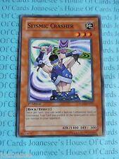 Seismic Crasher FOTB-EN027 Common Yu-Gi-Oh Card Mint/NMint 1st Edition