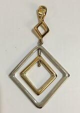 Lia Sophia Trish Gold Silver Reversible Slide Excellent Condition