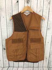 Vtg Seaway Fishing Vest Lightweight brown Size Xl Euc G2