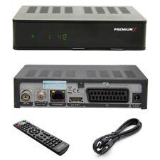 PremiumX HD 1100 Combo FullHD Digital Receiver für Sat HDTV DVB-S2 2x USB HDMI