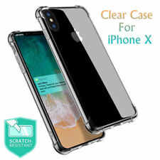 Apple iPhone X Case Cover Crystal Clear Gel Protective ShockProof Slim Silicone