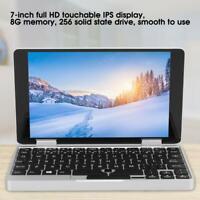 7-Inch Pocket Computer Notebook for Intel Celeron 3965Y 8G+256G Laptop Computer