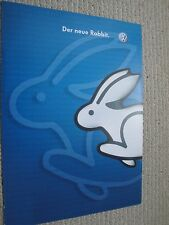 Volkswagen VW MK5 Golf Brochure Dated 2005 Der Neue Rabbit Austrian Version
