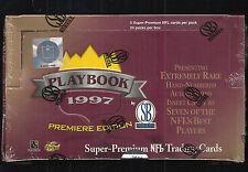 1997 SCOREBOARD PLAYBOOK FOOTBALL BOX TONY GONZALEZ RC MINT VERY RARE BOX !