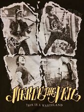 PIERCE THE VEIL THIS IS A WASTELAND LADIES FITTED Large T-SHIRT 2013 PUNK ROCK