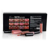 BO Womens 26 Colors Waterproof Long Lasting Lipstick Matte Lip Gloss Cosmetics