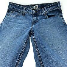 Levis Signature Size10 Stretch Mid Rise Bootcut Medium Denim Wash Jeans Womans