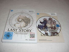 Last Story Nintendo Wii Spiel komplett mit OVP und Anleitung