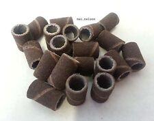 50x Lijas de banda medio 150grit Electric Nail Drill archivo Acrílico Gel Uñas Tips