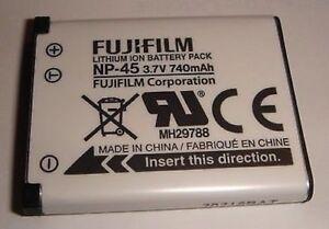 Batería Original Fujifilm NP-45 NP-45A Sanyo DS5370