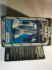 Star wars garde Detoo R2-d2 grand radio contrôlée mib moc toy figure palitoy