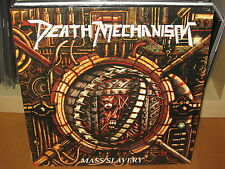 DEATH MECHANISM - Mass Slavery - LP - BULLDOZER, KREATOR, NECRODEATH, SCHIZO !!!
