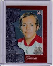 YVAN COURNOYER 13/14 ITG Lord Stanley's Mug #26 Premium Metallic Card Canadiens
