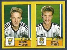 PANINI FOOTBALL 87-#560-A-B-ST MIRREN-TOMMY WILSON / DAVID WINNIE