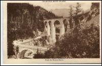 Chamonix-Mont-Blanc ~1910 Pont de Sainte Marie Brücke