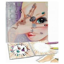 TOPModel Create your Hand-Design Colouring Book New 7945_A