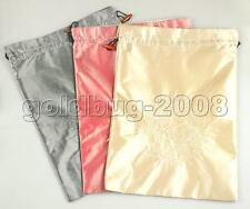 3 pcs Fashion Silk Embroidered Clothes Bags #2556