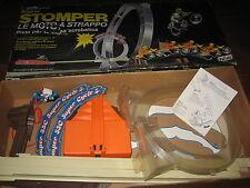 Polistil Pista Super STOMPER Le Moto a Strappo Boxed Anni '80