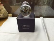 BOXED CAITHNESS PAPERWEIGHT ABSTRACT MOONBLOOM