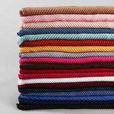 20 Colors Hot Women Pleated Crinkle Hijab Cotton Scarf Muslim Head Wrap Shawl