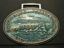 Niagra Falls 1978 Pocket Watch Fob Caowf Canadian Association Collectors enamel