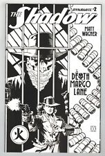 THE SHADOW: THE DEATH OF MARGO LANE #2 MATT WAGNER B & W VARIANT COVER - 1/10