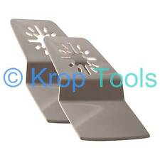 2 Multi Tool Blades Erbauer Makita Milwaukee Rigid Scraper by KROP